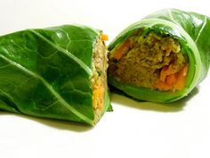The Daily Dietribe: Elimination Diet, Phase One Recipe: Simply Savory Collard Wraps
