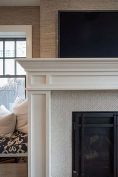herringbone marble fireplace surround - Yahoo Search Results