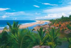 Marari Beach, Kerala - one of the destinations on our rail tours to southern India http://www.greatrail.com/hotels/mararikulam-marari-beach-resort.aspx