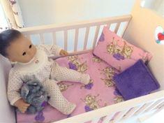 doll bedding 4 18 inch american girl blanket pillow set colorful heart flower 88