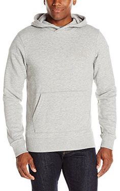 Bench Men's Arabesque Pullover Hoodie, Grey Marl, XX-Large ❤ Bench Men's Athletic