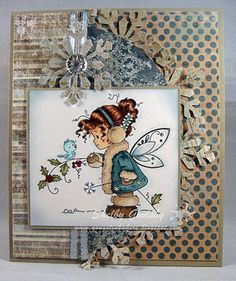 Image by Wee Stamps Snowflake Fairy.