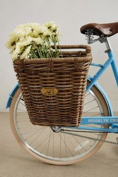 Anthropologie Surfside Bike Basket