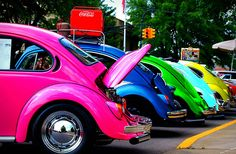 To own a colorful slugbug<3