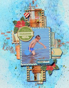 Mixed_Media_Layout_Denise_van_Deventer_BoBunny_+Beach_Therapy_Under_the_Sea_Stickable_Stencil_15.JPG 600×766 pixels