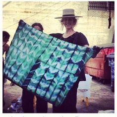 Todays Indigo Workshop at Platform far exceeded my expectations. A very special thank you to Ashley Thayer, our amazing teacher @maricoloustextiles and to all of you who joined us for the Indigo madness, it was such a great creative group. theINDIGOexperiment was a success!!!!  Cant wait for the next one