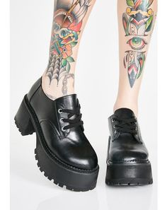 b93e83ce8 Midnight High School Hellcat Chunky Platforms 90s Platform Shoes, Platform  Creepers, Punk Rock Fashion