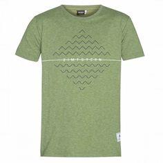 Zimtstern Herren T-Shirt Nabilz - Olive