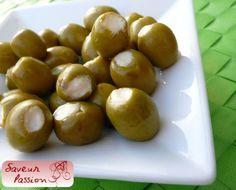 olives farcies à la brandade de morue