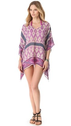 perfect beach cover up. we love how many ways to wear are possible with just one of our scarf tops!