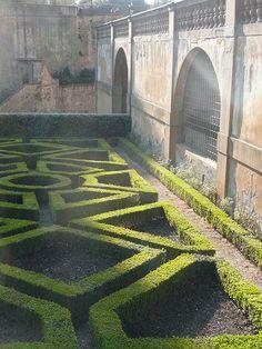 Boboli Gardens, Piazza Pitti, Florence, Italy
