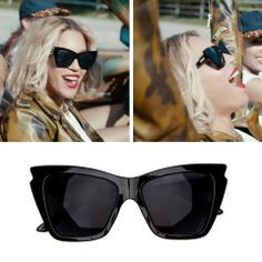 4bc5de7e93 Beyonce look amazing in  Rapture  sunglasses by Le Specs. Shop her look here