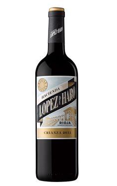 5,50 € · Hacienda López de Haro Crianza 2011 · 91 Parker · Tempranillo, Garnacha Tinta y Graciano Rioja