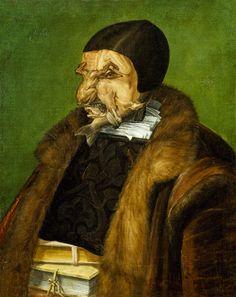 The Jurist | Giussepe Arcimboldo | 1566 | oil on canvas | 25 x 20 in | Nationalmuseum, Stockholm, Sweden