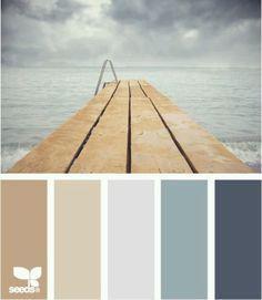 Azules y arenas