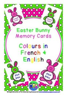 A lively way to work on colours in French, perfect for little learners!Children can work happily alone or with a partner, testing their memory and their knowledge of colours in French.