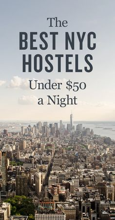 Traveling to NYC soon? Check out our list of the best hostels in New York City!