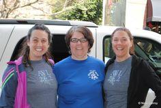 What a pair of Asheville Marathon & Half Tee shirts!