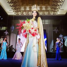 Chanel Jarrett Crowned Miss World Guam 2014