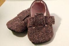 Baby Sewing Pattern for Boys or Girls - Little London Loafers. $4.50, via Etsy.