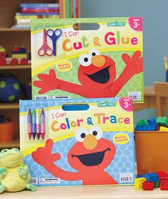 Sesame Street® Giant Activity Pads: $5.95ea. @ LTD Commodities