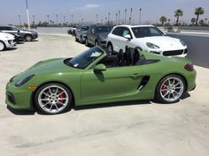 New PTS Olive Green Arrived! - Rennlist Discussion Forums