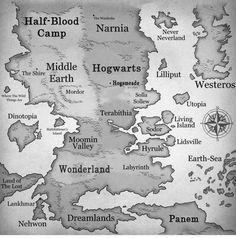 Tribute Von Panem, Fantasy World Map, Fantasy Places, Fantasy Life, Fantasy Story, Image Blog, Film Serie, Favim, The Hobbit