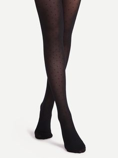 Shop Black Polka Dot Sheer Pantyhose Stockings online. SheIn offers Black Polka Dot Sheer Pantyhose Stockings & more to fit your fashionable needs.