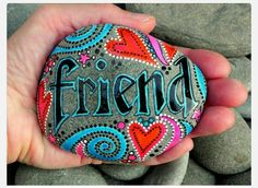 Perfect idea. I want to make two. One that says 'best' and then this one that says 'friend'. Then give one to my bestie. :)
