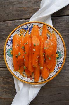 Apricot Glazed Carrots.