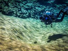Diver in the Lagoon