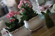 Mesa decorada para páscoa por Patricia Junqueira {Home, Receber & Baby} decoração, arranjos florais e ovos de páscoa