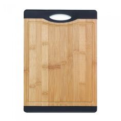 La Boca Bamboo Cutting Board With Black Grip