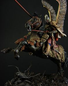 Figures: Polish winged hussar, photo #8