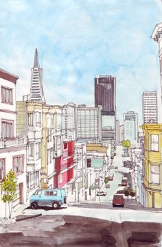 Fresno St, San Francisco by Edgeman13.deviantart.com on @DeviantArt