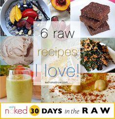 Raw Recipes I Love!