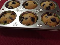 Yummy!! One of my favorite muffin recipes! Bake My Cake, Coconut Muffins, Muffin Recipes, Quick Easy Meals, Indian Food Recipes, Family Meals, Blueberry, Cinnamon, Curry