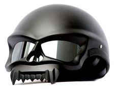 Free shipping Masei 429 For Harley Davidson Skull Motorcycle Chopper DOT Helmet