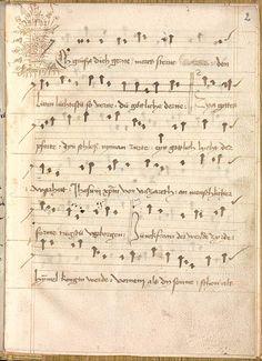 Sequentia 'Ave praeclara', Teutonicis verbis Erffordie compillatus 1492  Cgm 7351  Folio 7