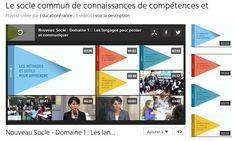 Le socle commun des connaissances et compétences en 5 vidéos