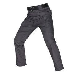 Men's Waterproof Tactical Pants Army Cargo Pants, Tactical Cargo Pants, Combat Pants, Military Pants, Tactical Clothing, Military Army, Mens Trousers Casual, Casual Pants, Men Pants