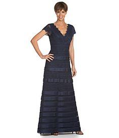 Dillard's Navy Blue dress