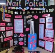 Which nail polish lasts longest? Get multiple women to document polish Room 39 @ Tauranga Intermediate: Science Fair 2011 Science Fair Board, Science Fair Experiments, Science Fair Projects Boards, Science Activities, School Projects, Projects For Kids, Project Ideas, Project Board, Highschool Science Fair Projects