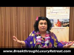 Experience the Aloha with the Women's Breakthrough Retreat 2015 - YouTube. Come join me in Hawaii!