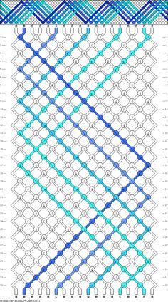 18 strings, 32 rows, 6 colors