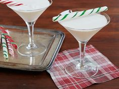 Candy Cane Cocktail Recipe : Sandra Lee : Food Network
