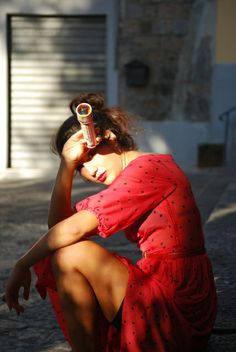 Red Polka Dots Naima Amarilli Gioco di Donne