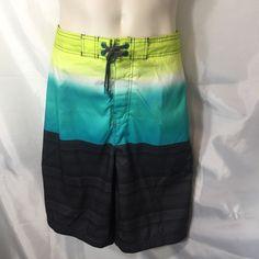 Speedo Swimwear Trunks Mens XL Horizon Turquoise Black Waist 38/40 Vaporplus UV    eBay
