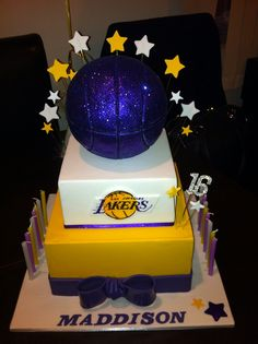 lakers cake - Google Search