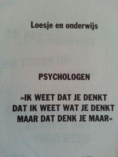 Psychologie en drijfveren van de mens ;-)